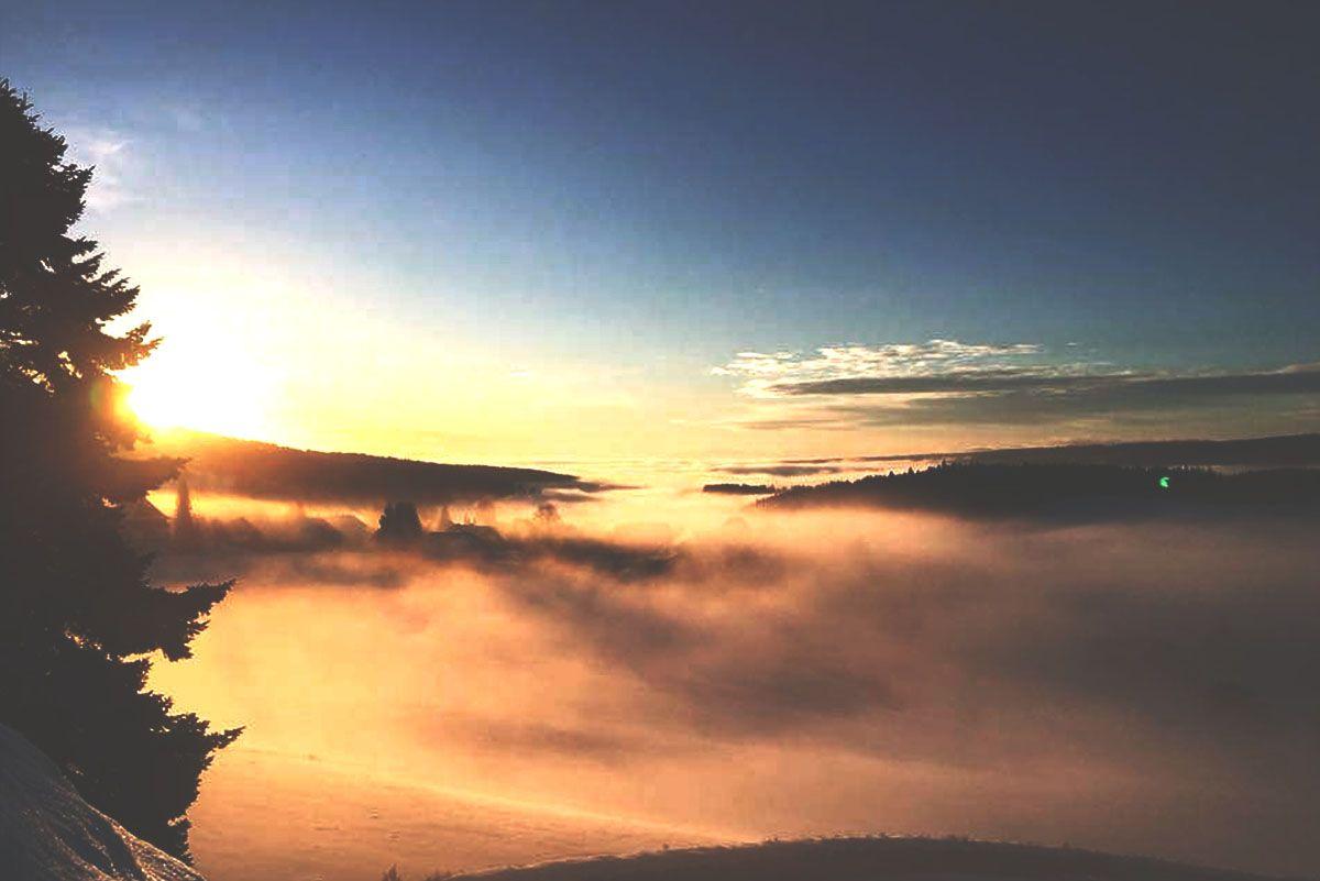 Sonnenaufgang Saiger Lounge Retreat